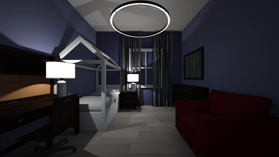 purple - Feminine - Bedroom - by jaiden2006