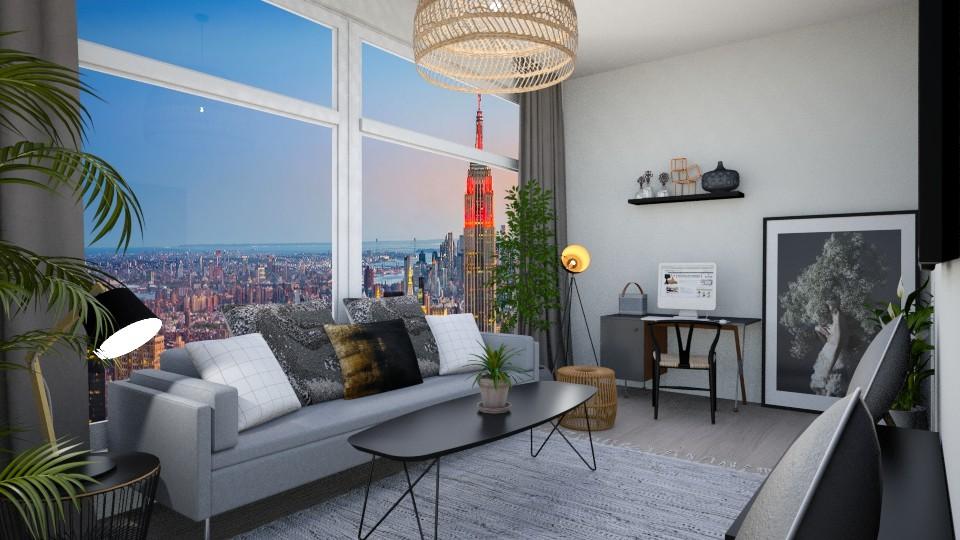 Living Room - by Augjen
