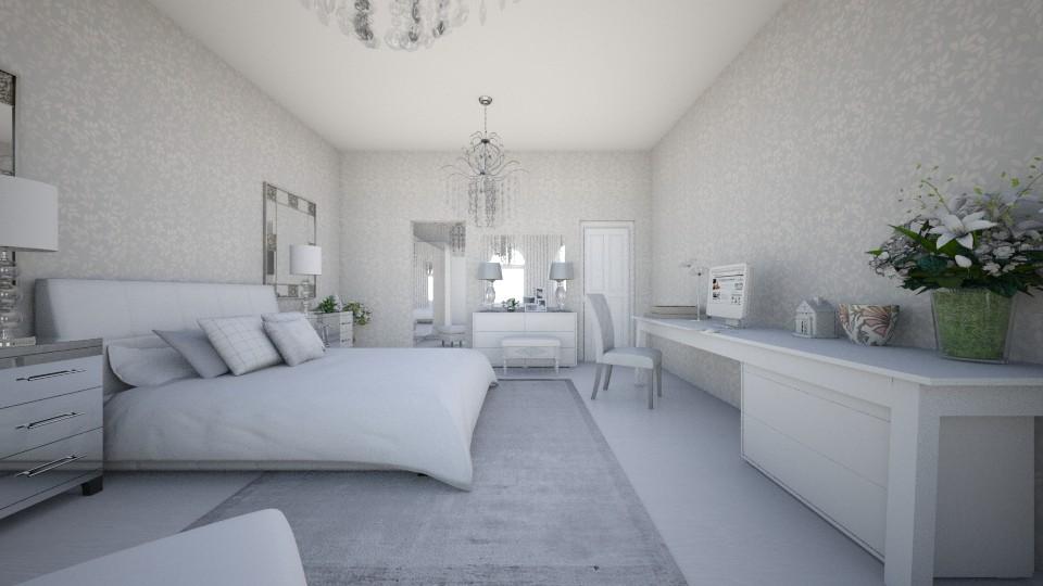 Quarto Paz - Bedroom - by Natt Vasconcelos