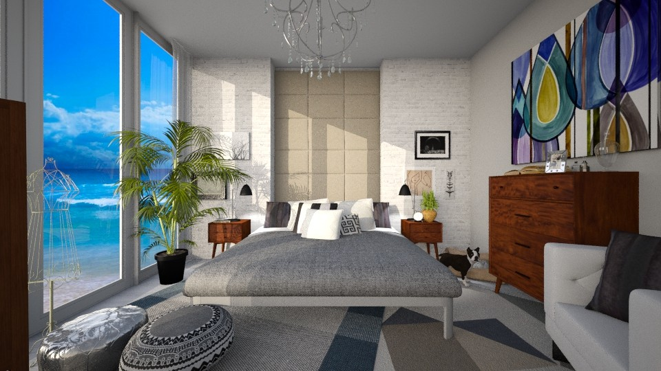 Modern Oasis - Modern - Bedroom  - by Raquel Collison