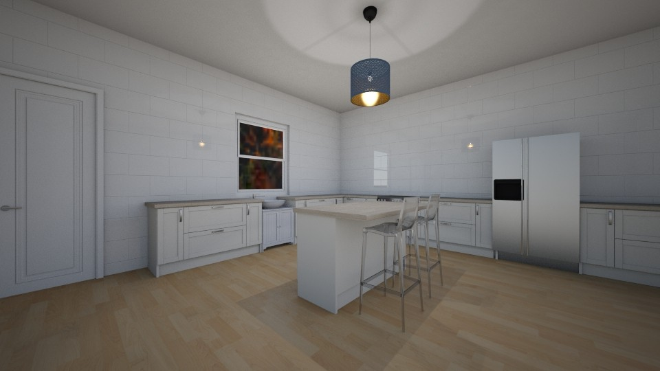 kitchen - by Ilovehorses