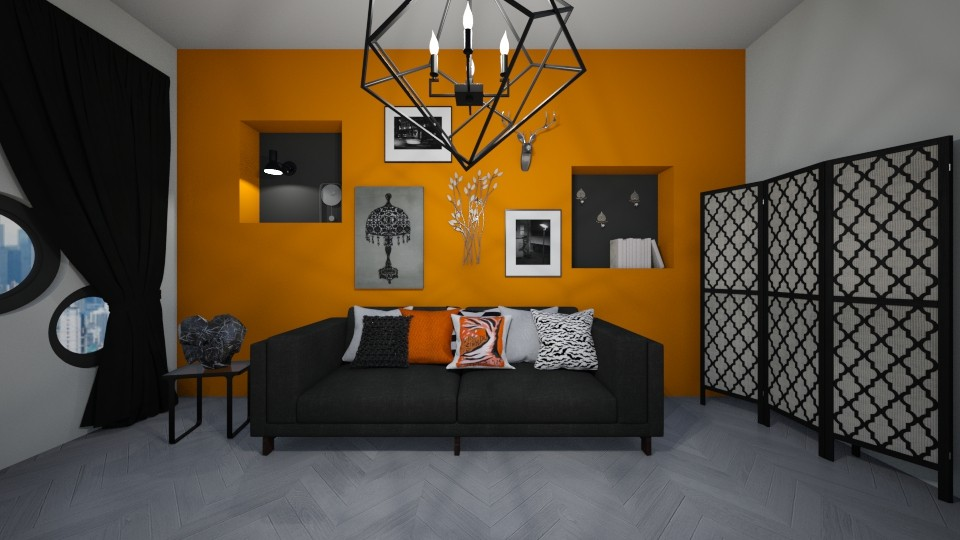 Maximalist - Living room - by JarvisLegg