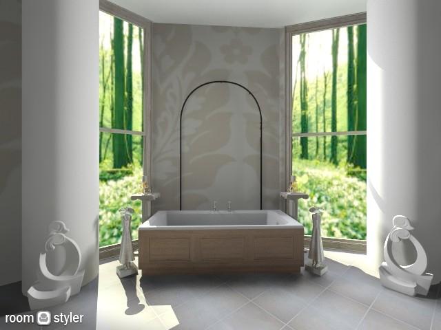 Une Salle De Bains - Bathroom - by Cam Styler