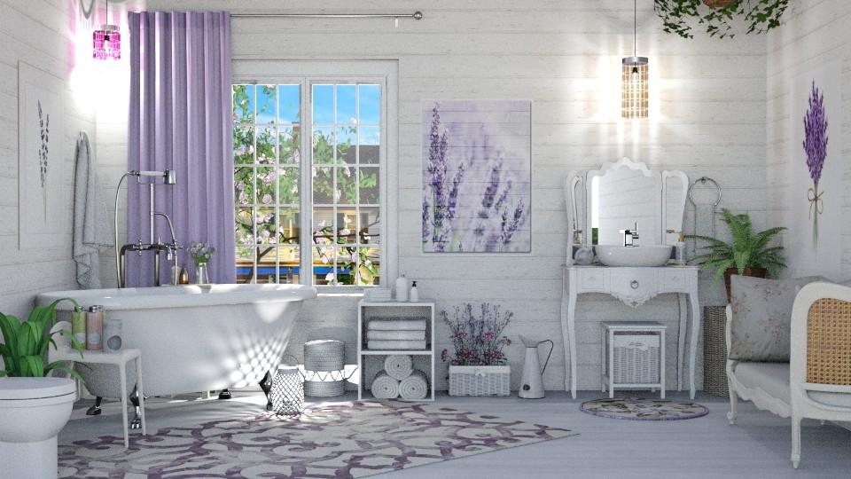 Lavender Bath - by  krc60