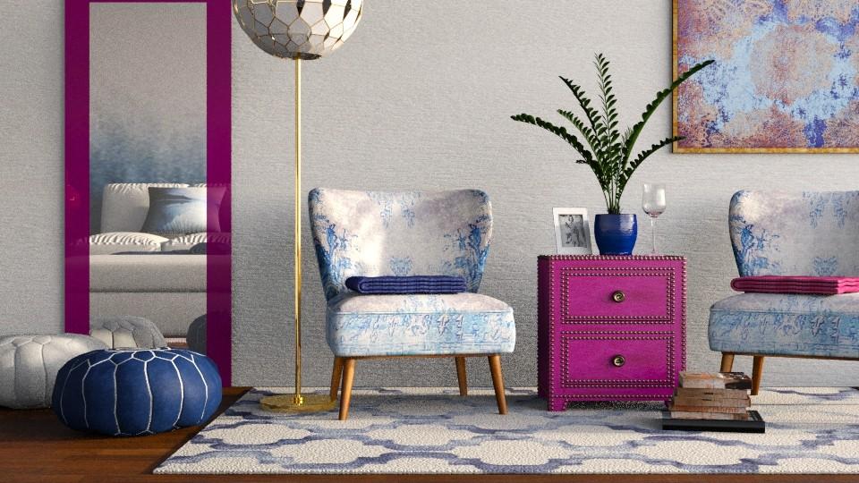 Berries - Feminine - Living room - by Kathran