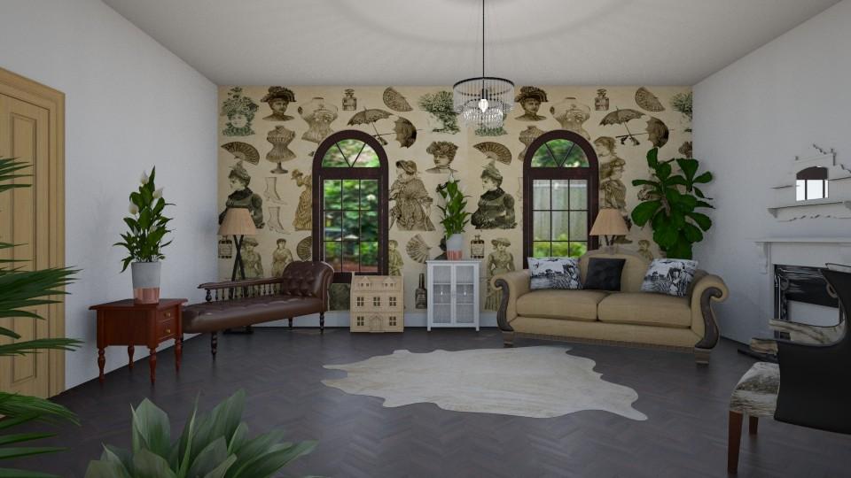 Room 14 - Living room - by Tiffany Y