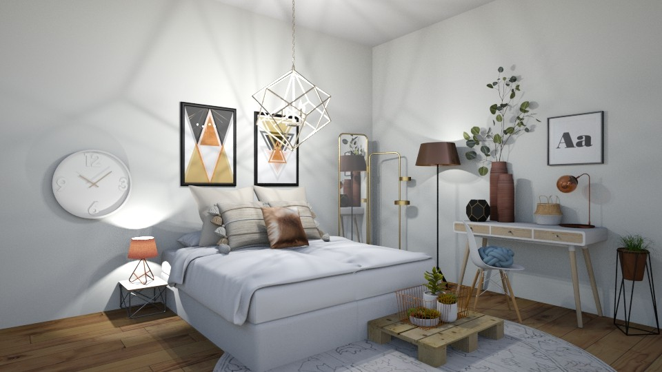 the bedroom - Bedroom - by belly bel bel