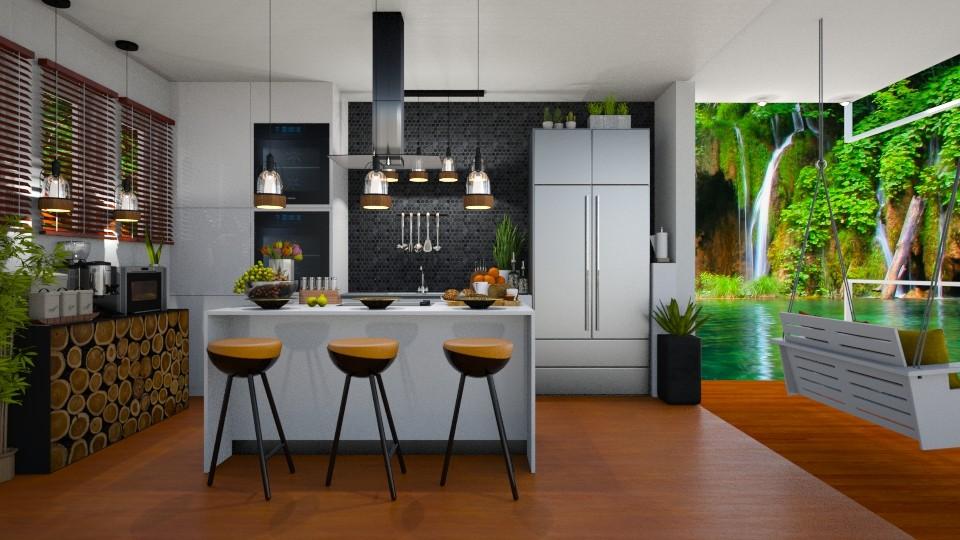 URBAN JUNGLE KITCHEN - Kitchen - by KC Pechangco