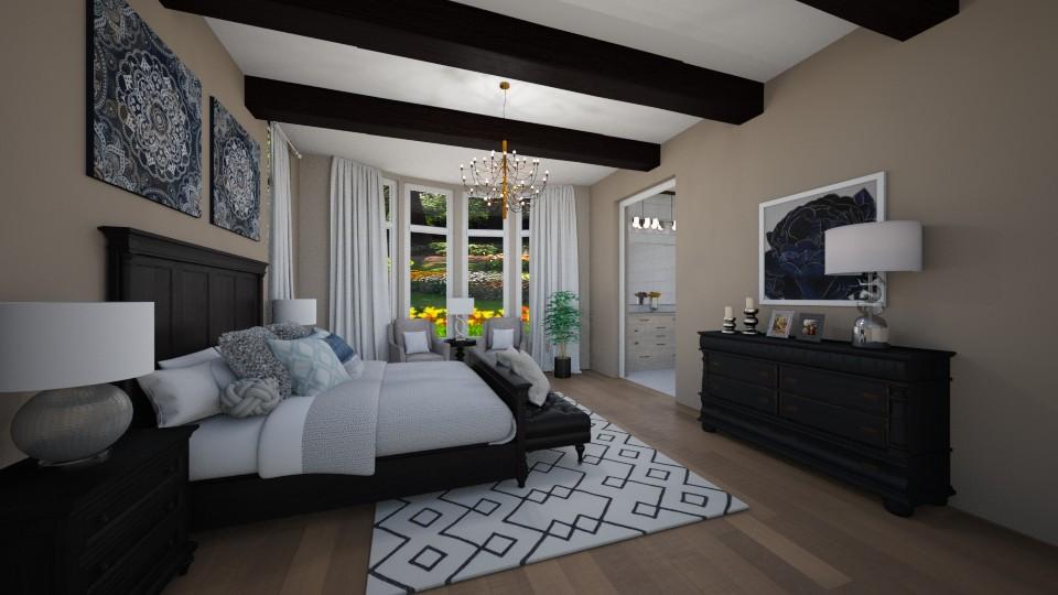 Luxury  - Bedroom - by Saraduran