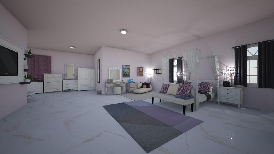 violet passion - Modern - Bedroom - by crystalg98