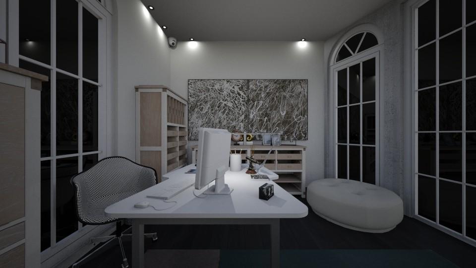 modern office  - Office - by memmi