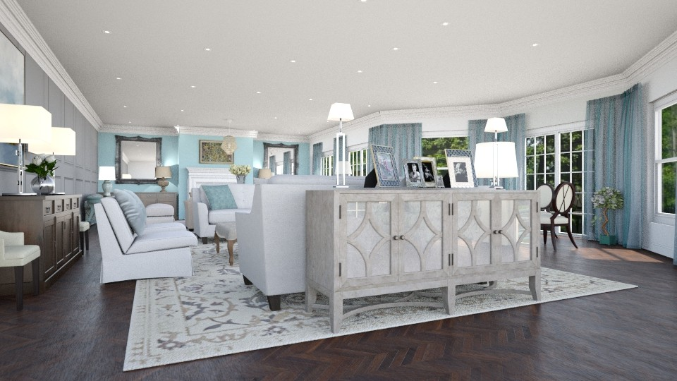 Drawing Room - Living room  - by CAD Service UK