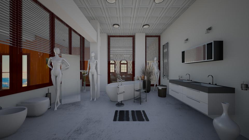 bathroom xperia - Glamour - Bathroom  - by christoforos