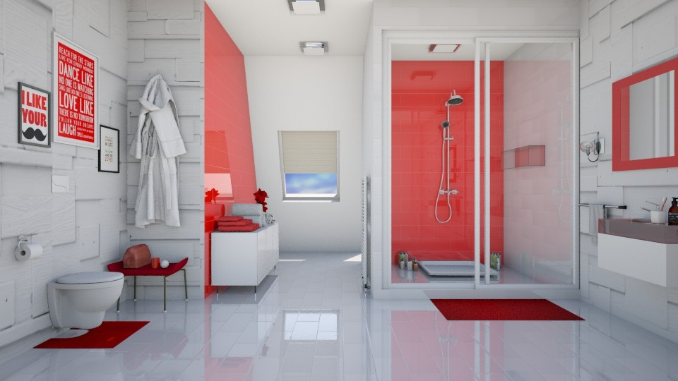 In the shower for my time - Bathroom - by agapka
