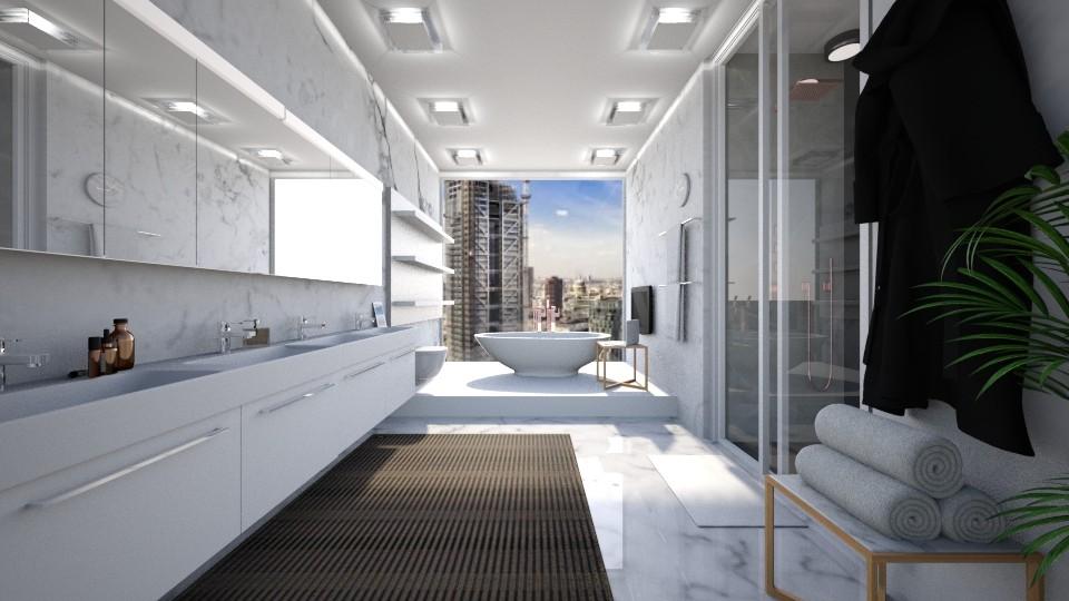 Marb - Modern - Bathroom - by genevivechen