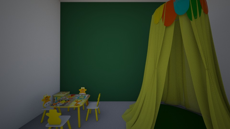 Bit of fun and games - Classic - Kids room - by zaryah