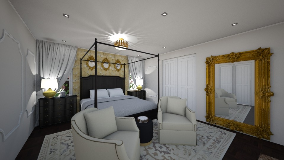 Mulberry Master Bed - Bedroom - by ndagher
