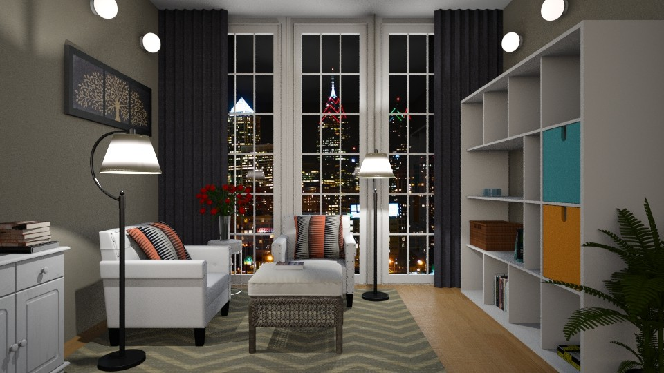 Philadelphia night - Classic - Living room - by ljiljanan