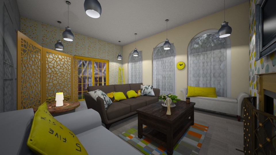 sunny yellow - by Lolo Loves Interior Design