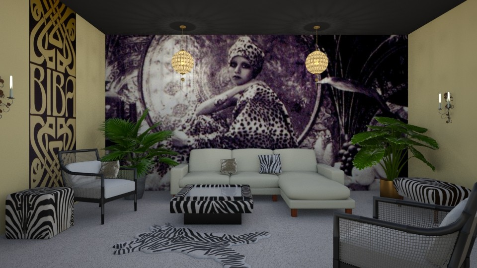 Room 10 - Living room - by Tiffany Y