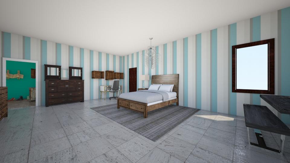 Apartment  - Vintage - Bedroom  - by Omggirl77