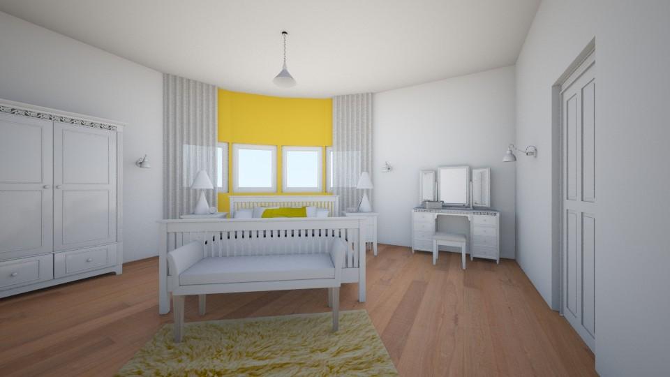 bedroom - by aila auk