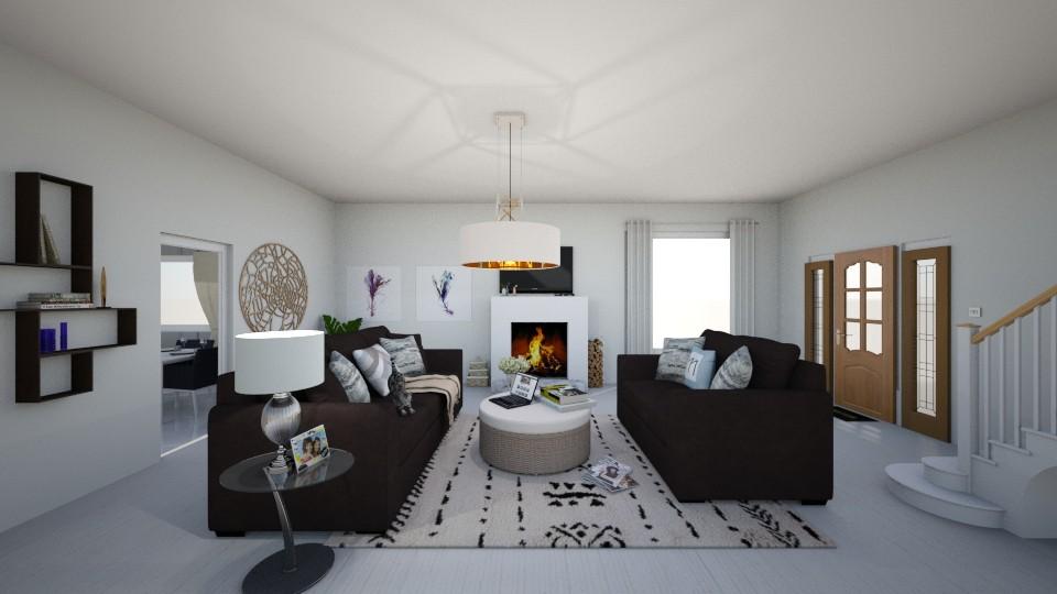 living room design - Classic - Living room - by salisha222