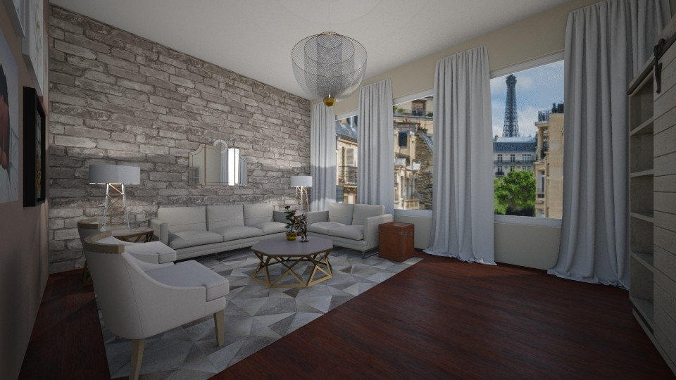 Daisy de Arias 2019 - Living room  - by Daisy de Arias