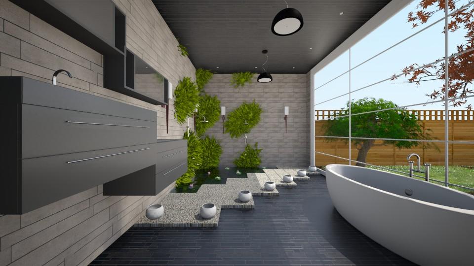 Future - Modern - Bathroom - by Sali15