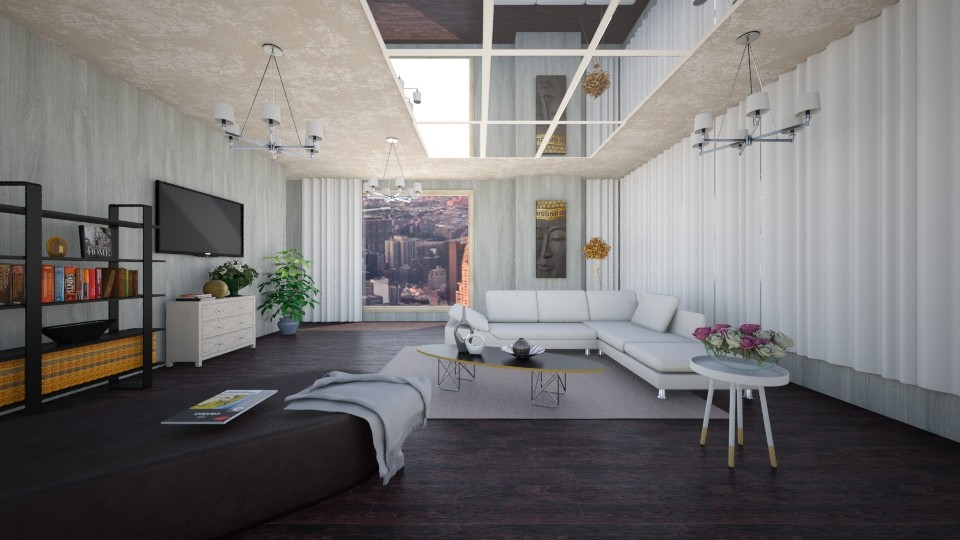 modern123 - Modern - Living room - by Kamale