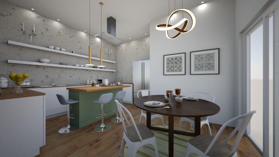 j - Kitchen - by Jemima Carvalho