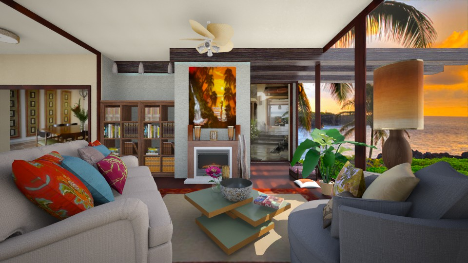 Kailani Living  - Living room  - by steph01mami