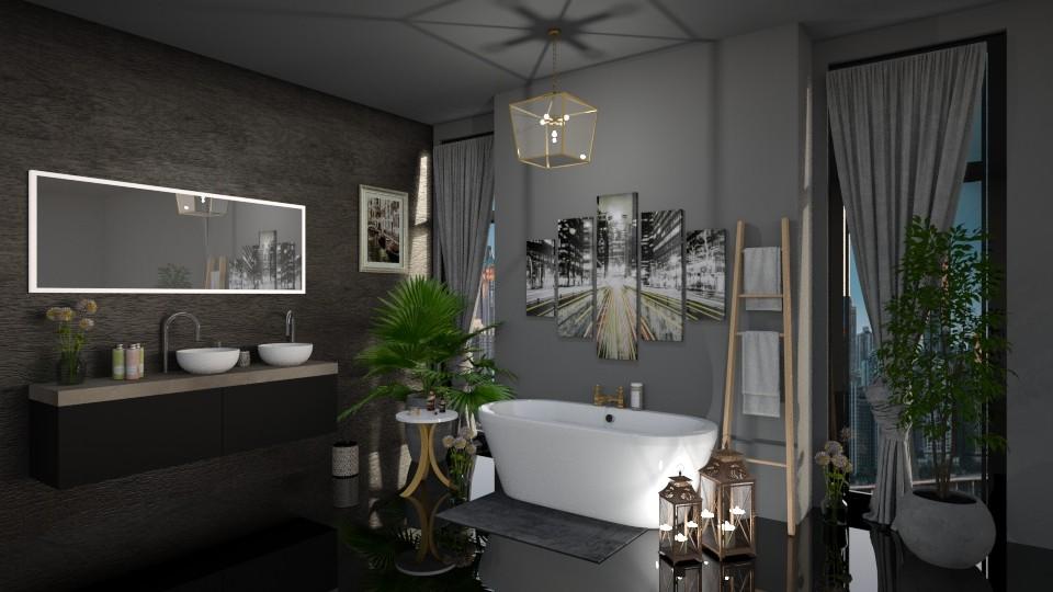 Modern Bathroom  - Modern - Bathroom - by LunaBradley