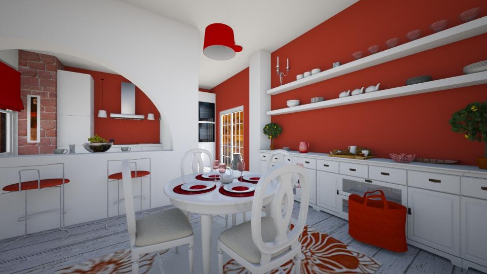 dining kitchen - Kitchen - by rasty