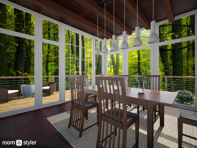 A Home in the Woods - Modern - by Patricia Mari Rosario