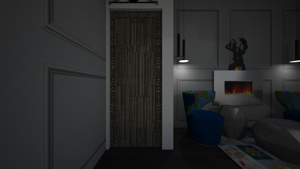 gray bedroom - Bedroom - by ayamarzook1