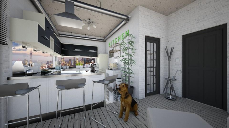 apartment 1 - Kitchen - by AlexDi
