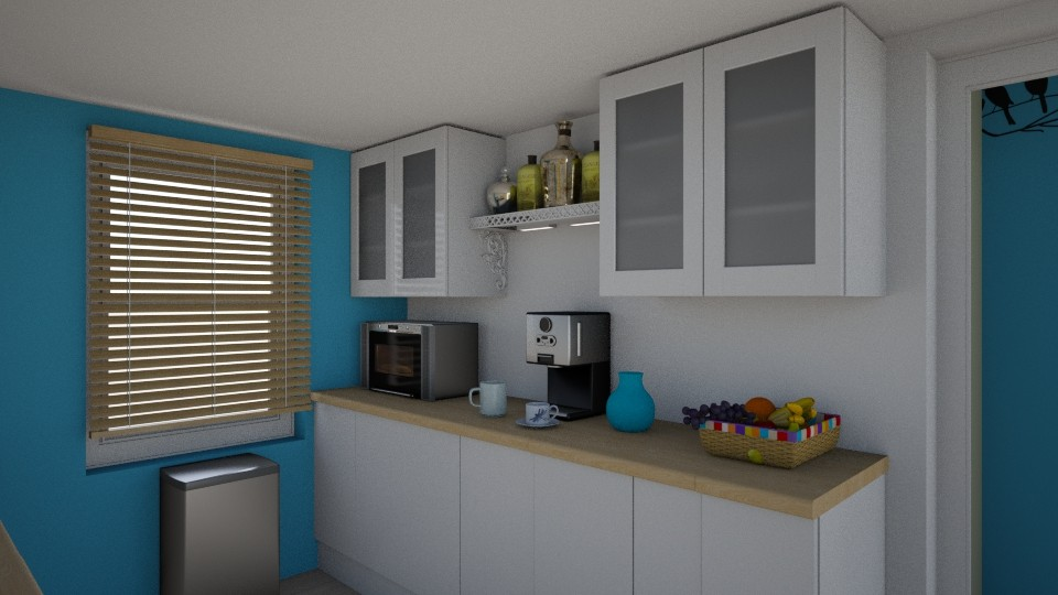 Small Space Kitchen - Kitchen  - by SherryDW