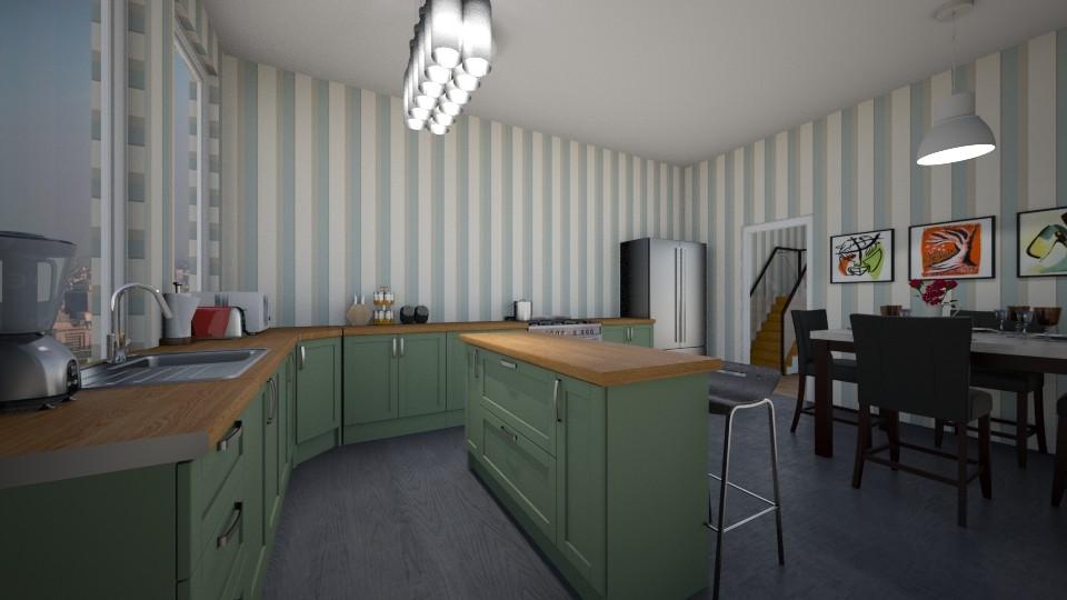 kitchen - by salisha222