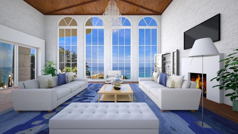 Summer - Modern - Living room - by Sophia Urcuyo