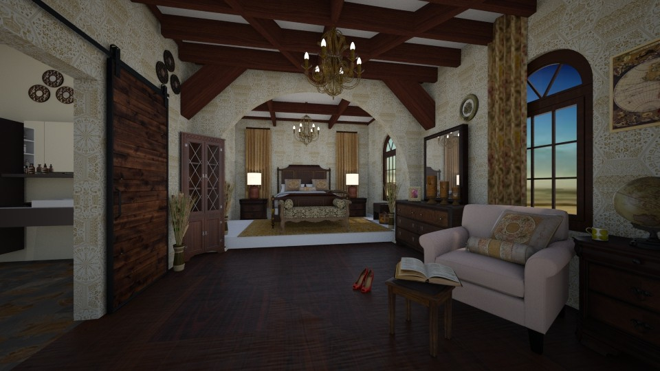 SantaBarbara Master Suite - Bedroom - by Tzed Design