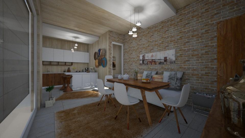 kitchen - by Vasiliki Stagkidou