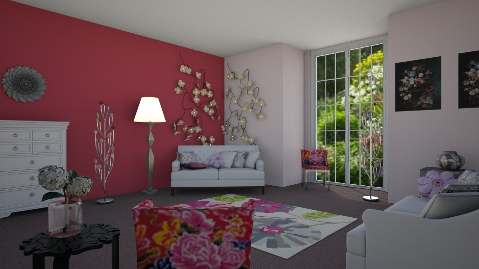 Room 6 - Living room - by Tiffany Y