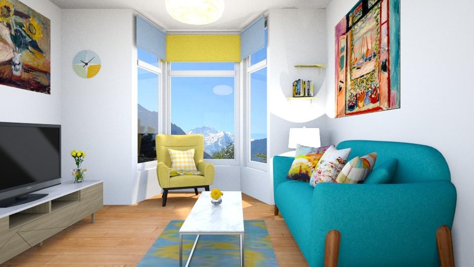 matisse  - Modern - Living room - by zayneb_17