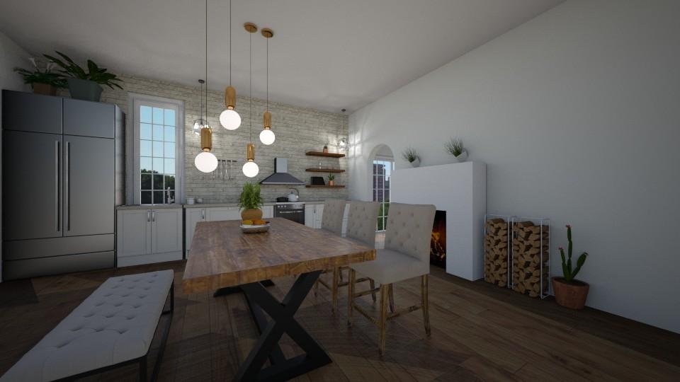 kitchen - by herrincook