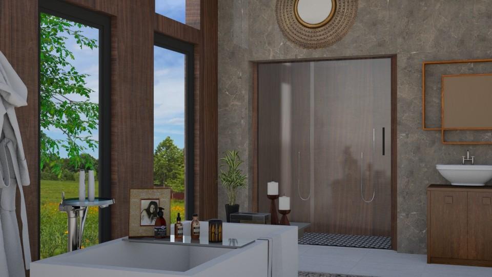 mcm_bathroom - Bathroom - by RaeCam