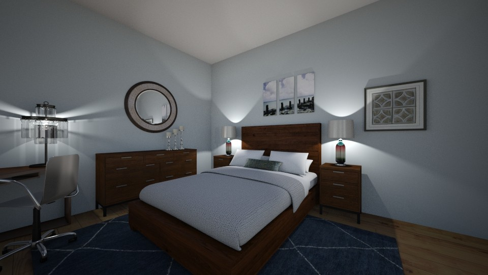 Marie Anania 1 - Bedroom - by coastal calm