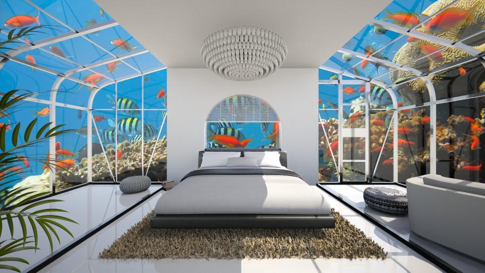 Under the sea - Bedroom - by Keliann