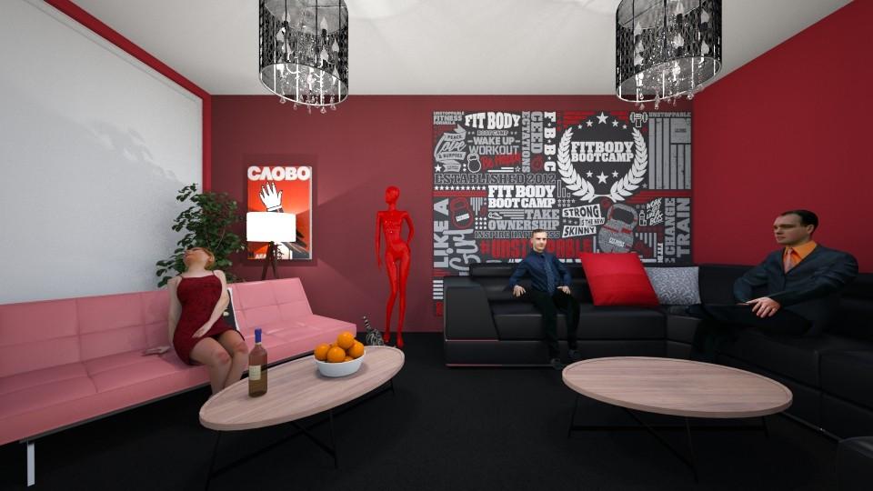 comon room - by landen russo
