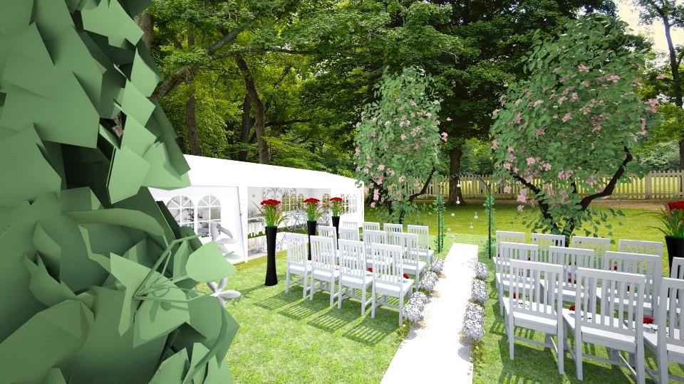 outdoor wedding - Garden - by dchav5